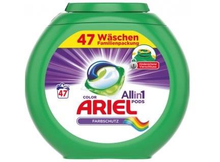 Ariel 3v1 Color gelové kapsle na barevné prádlo 47 ks - originál z Německa