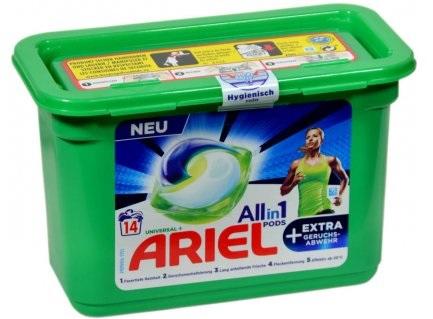Ariel 3v1 Universal gelové kapsle na prádlo 14 ks