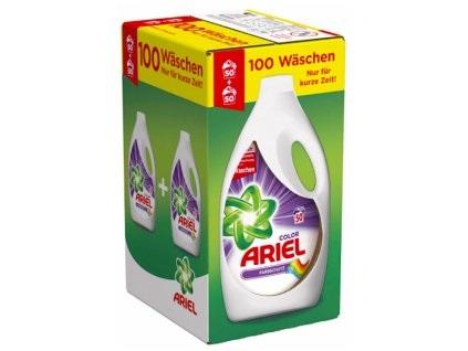 Ariel Actilift Color prací gel 2 x 2,75 l, 100 pracích dávek